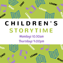 Children's Storytime Flyer