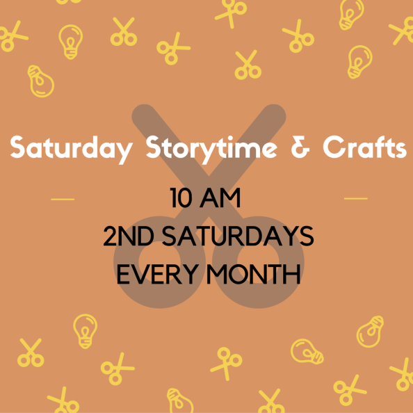 Saturday Storytime & Crafts