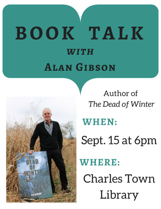BOOK TALKwithAlan Gibson