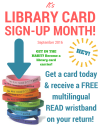 It's Library Card Sign-Up Month!